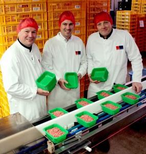 Composteerbare vleesschalen - (vlnr Patrick Gerritsen-Bio4Pack - Léon Kamperman-ProMessa - Hendrik Bom-ProMessa)#2