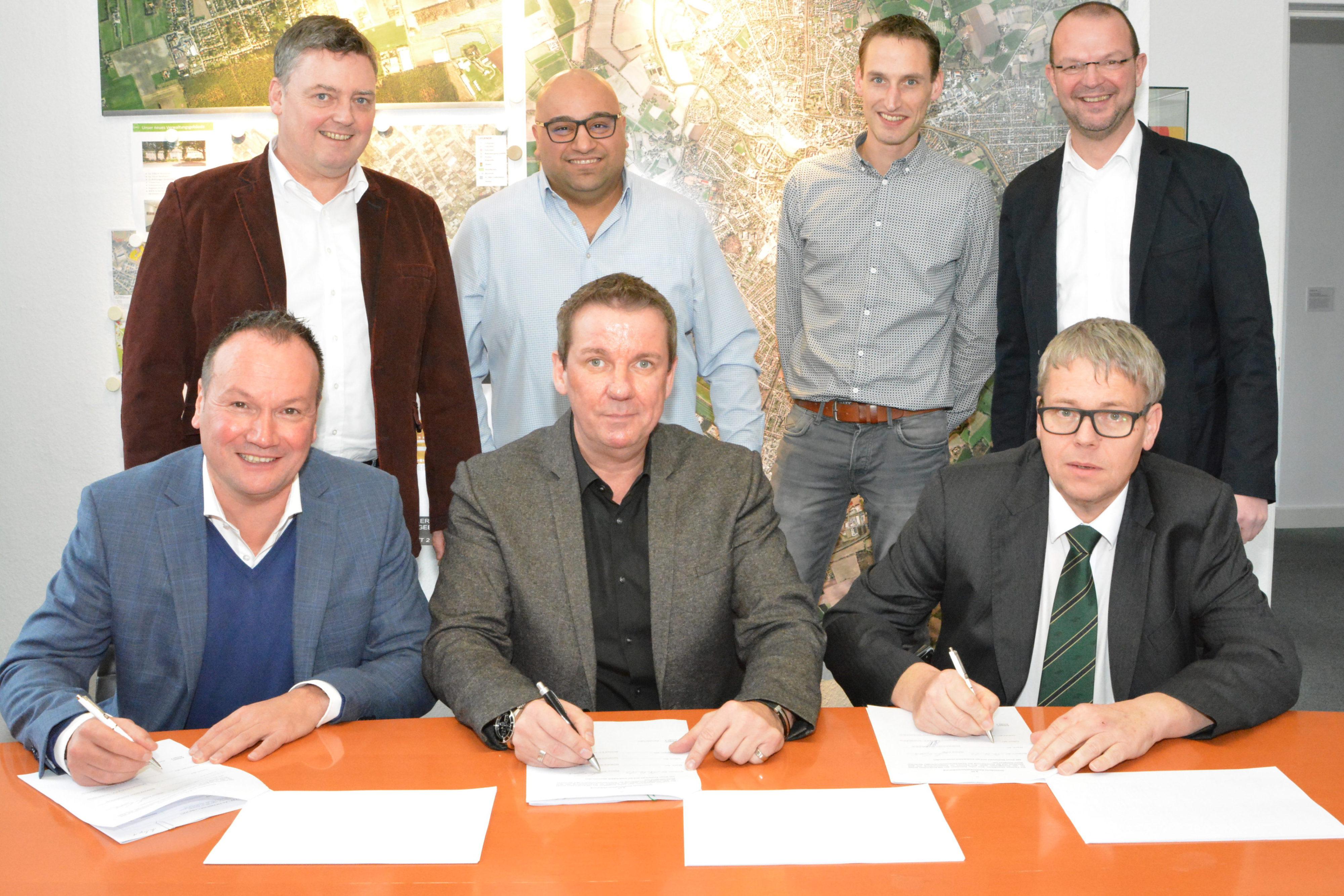 tekenen huurcontract Nordhorn