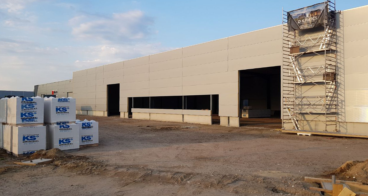 Construction new office and warehouse 2018-05-14-3